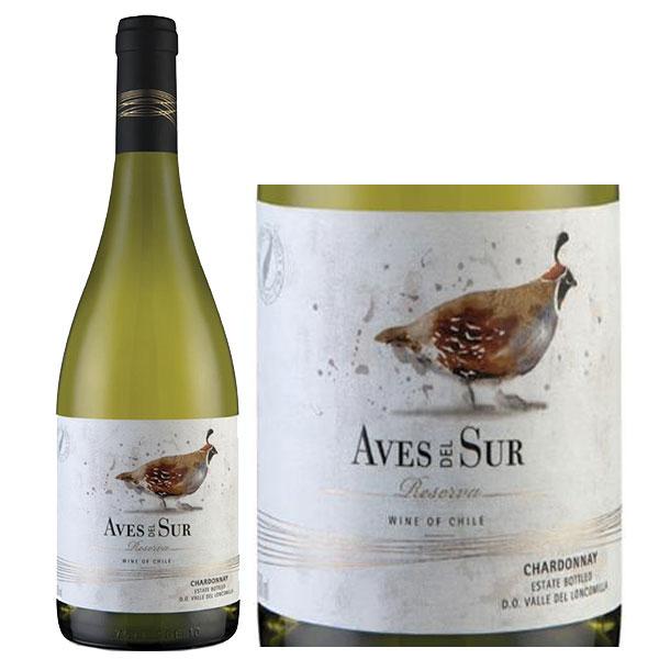 Rượu Vang Aves Del Sur Reserva Chardonnay - Wine VN