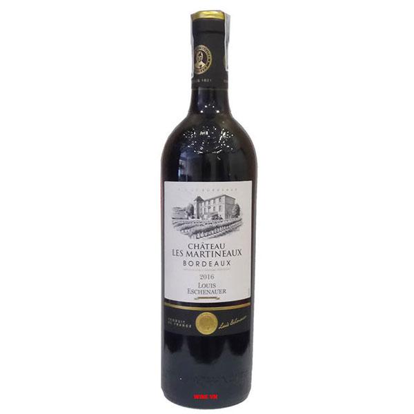 Rượu Vang Chateau Les Martineaux Bordeaux