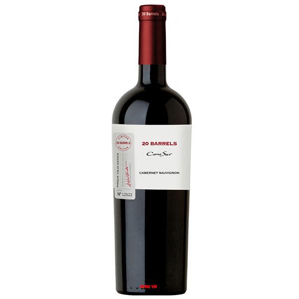 Rượu Vang Cono Sur 20 Barrel Cabernet Sauvignon Tinto