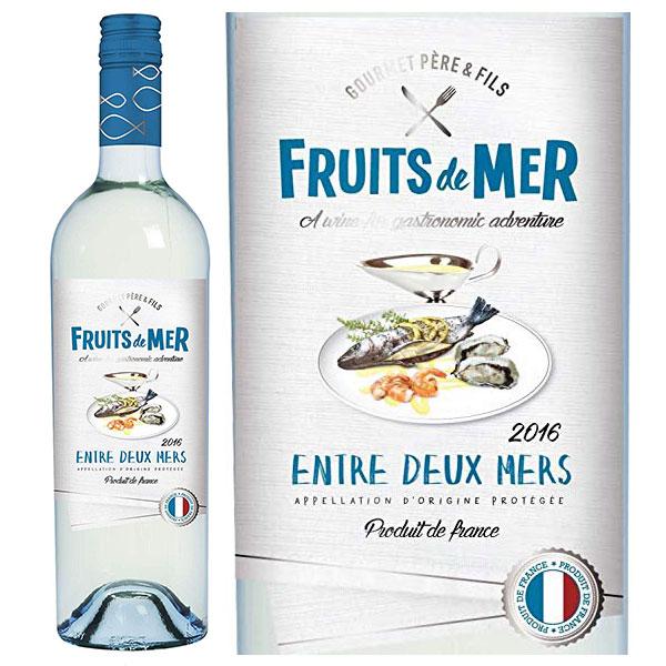 Rượu Vang Fruits De Mer Entre Deux Mers