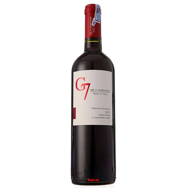 Rượu Vang G7 Clasico Red