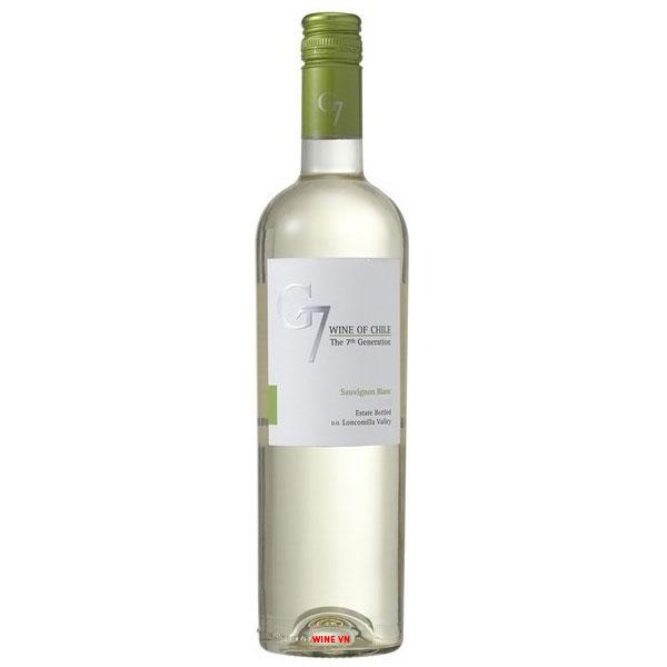 Rượu Vang G7 Clasico White
