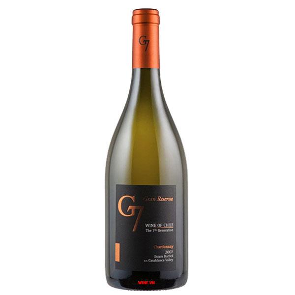 Rượu Vang G7 Gran White