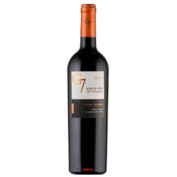 Rượu Vang G7 Reserva Red