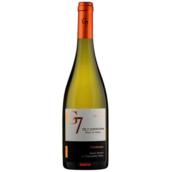 Rượu Vang G7 Reserva White