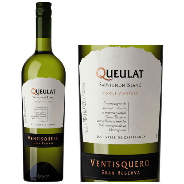 Rượu Vang Queulat Gran Reserva White