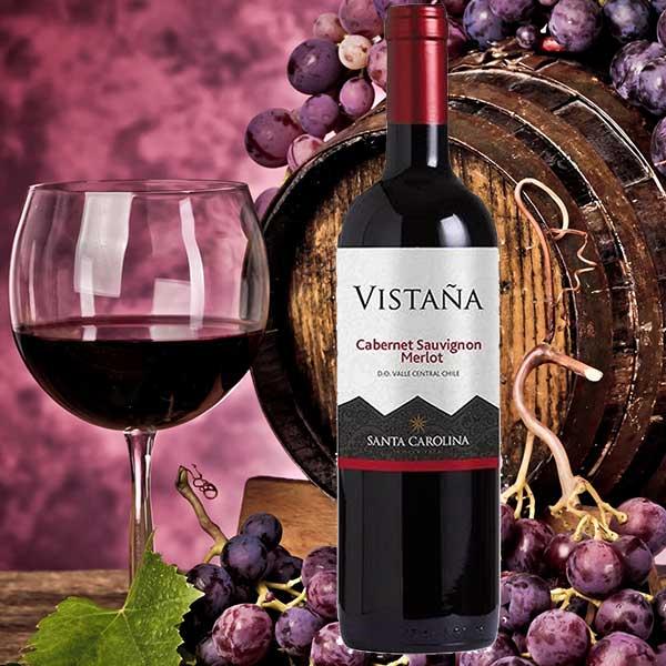 Rượu Vang Santa Carolina Vistana Cabernet Sauvignon Merlot