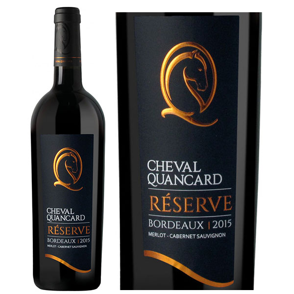 Rượu vang Cheval Quancard Reserve Bordeaux Merlot Cabernet Sauvignon