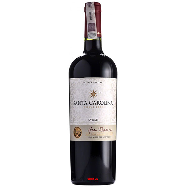 Rượu vang Santa Carolina Gran Reserva Syrah