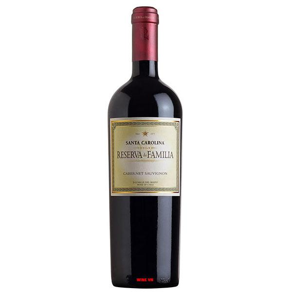 Rượu vang Santa Carolina Reserva De Familia Cabernet Sauvignon
