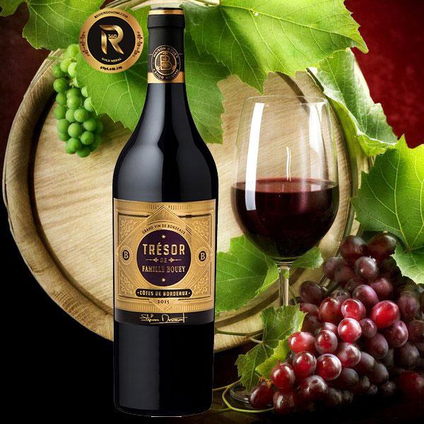 Rượu vang Tresor De Famille Bouey Red