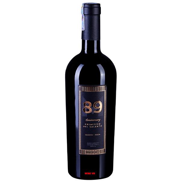 Rượu Vang 89 Anniversary Primitivo Del Salento