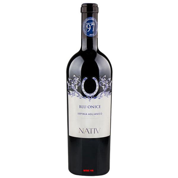 Rượu Vang Blue Onice Arpinia Aglianico Doc