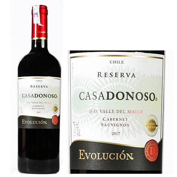Rượu Vang CasaDonoso Evolución Reserva Cabernet Sauvignon