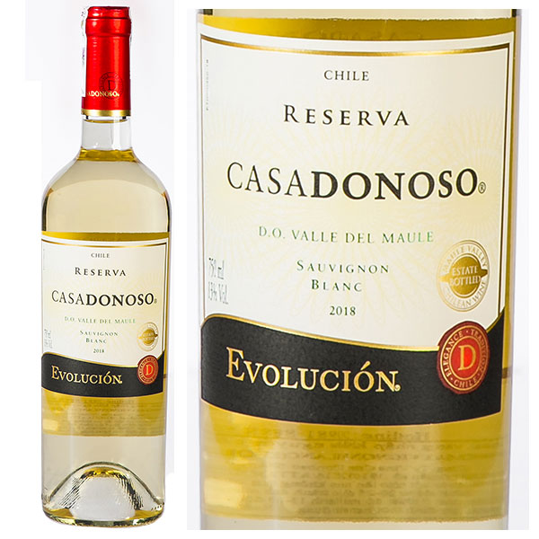 Rượu Vang CasaDonoso Evolución Reserva Sauvignon Blanc
