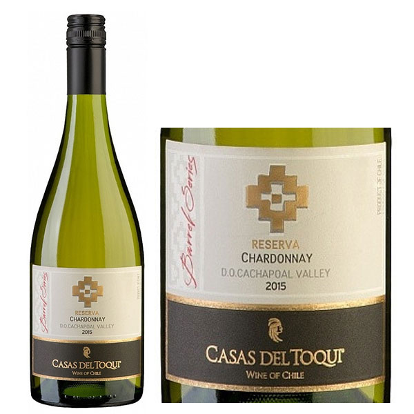 Rượu Vang Casas Del Toqui Barrel Reserva Chardonnay