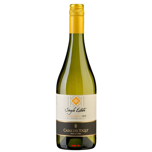 Rượu Vang Casas Del Toqui Single Estate Chardonnay