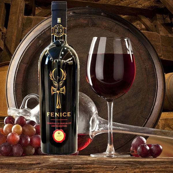 Rượu Vang Fenice Primitivo Puglia