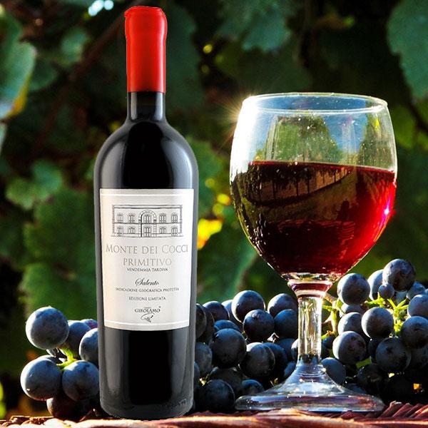 Rượu Vang Monte Dei Cocci Primitivo