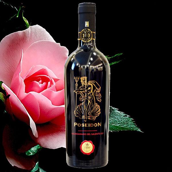 Rượu Vang Poseidon Negroamaro del Salento
