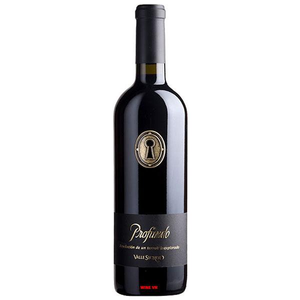 Rượu Vang Profundo Valle Secreto