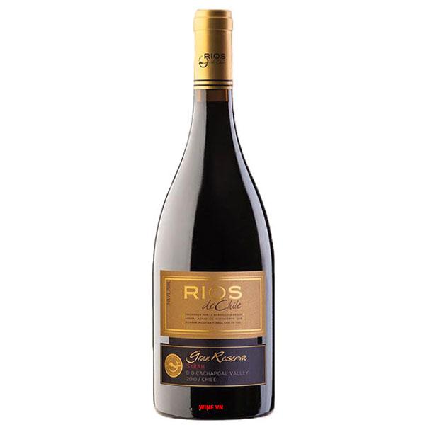 Rượu Vang Rios De Chile Gran Reserva Syrah