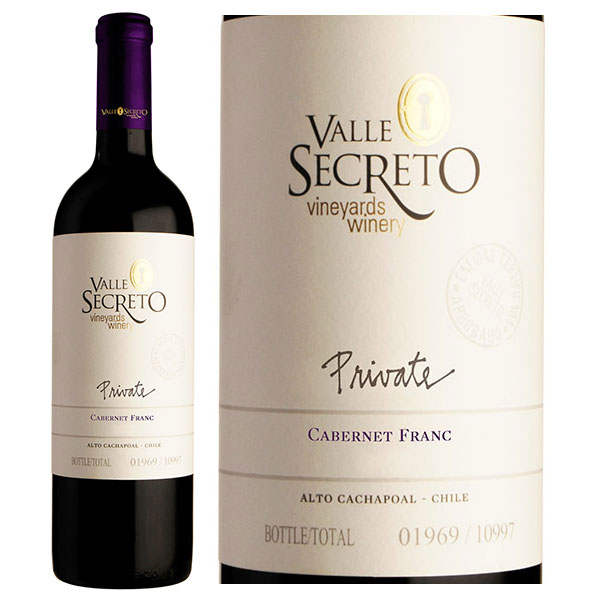 Rượu Vang Valle Secreto Private