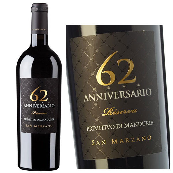 Rượu vang 62 Anniversaio