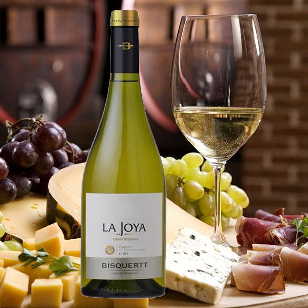 Rượu vang Bisquertt La Joya Gran Reserva Viognier