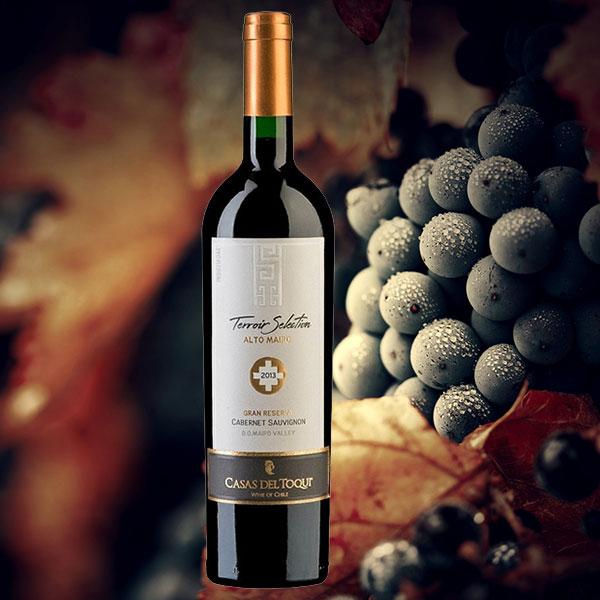Rượu vang Casas Toqui del Gran Reserva Cabernet Sauvignon