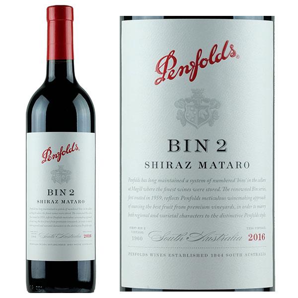 Rượu vang Penfolds Bin 2 Shiraz Mataro