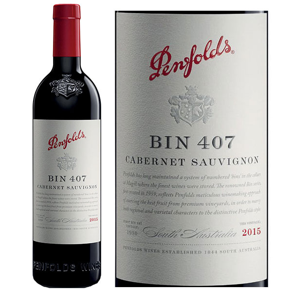 Rượu vang Penfolds Bin 407