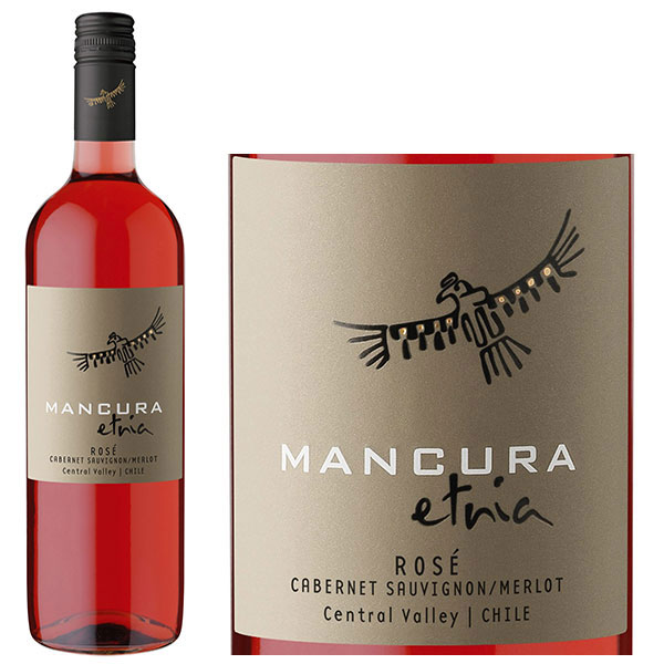 Rượu Vang Mancura Etnia Rose