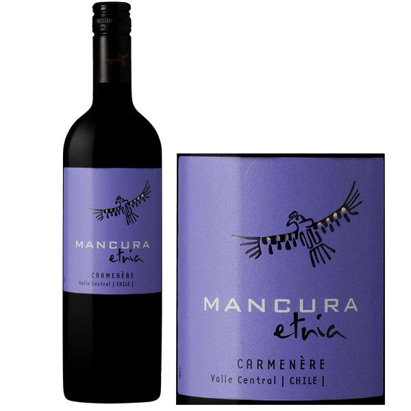 Rượu Vang Mancura Etnia Semi Sweet Carmenere