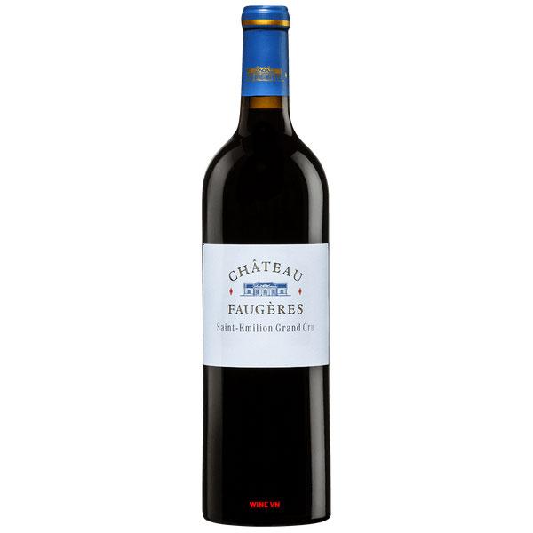 Rượu Vang Chateau Faugeres Saint Emilion Grand Cru