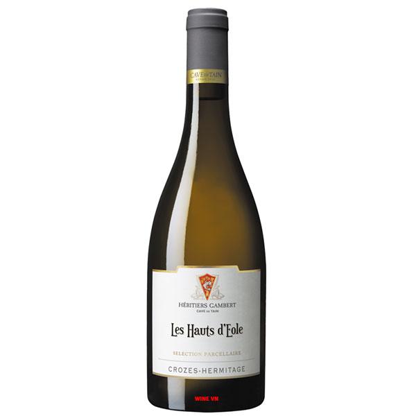 Rượu Vang Les Hauts D'eole Crozes Hermitage