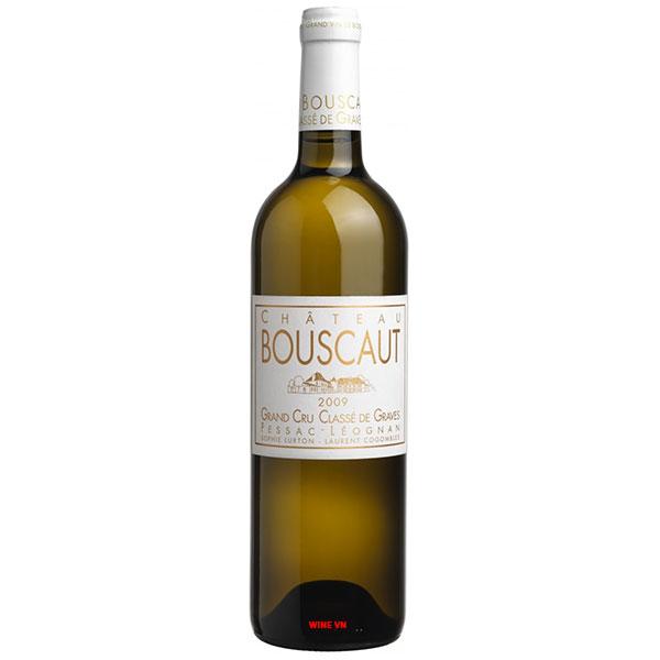 Rượu Vang Pháp Chateau Bouscaut Blanc
