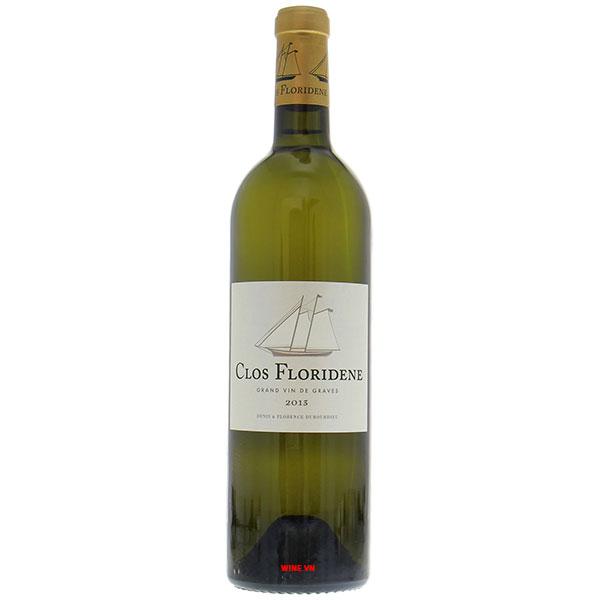 Rượu Vang Trắng Pháp Clos Floridene