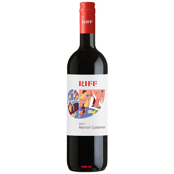 Rượu Vang Ý Cantina Riff Merlot Cabernet