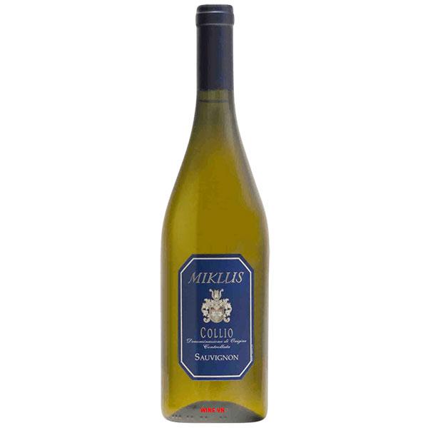Rượu Vang Ý Miklus Collio Sauvignon