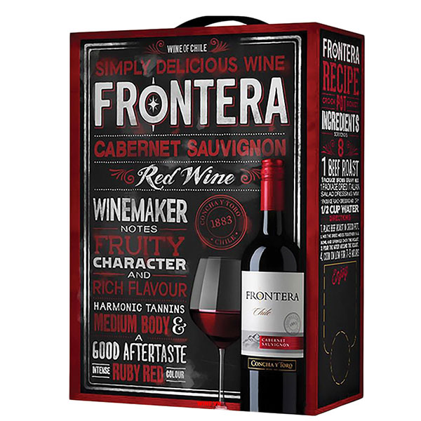 Rượu Vang Bịch Concha Y Toro Frontera Cabernet Sauvignon