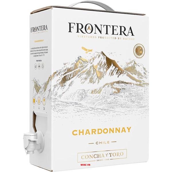 Rượu Vang Bịch Concha Y Toro Frontera Chardonnay