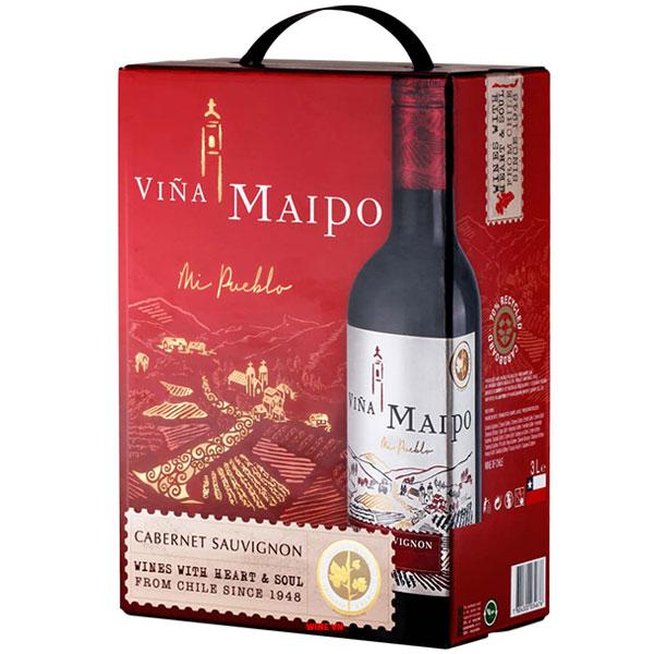 Rượu Vang Bịch Vina Maipo Cabernet Sauvignon