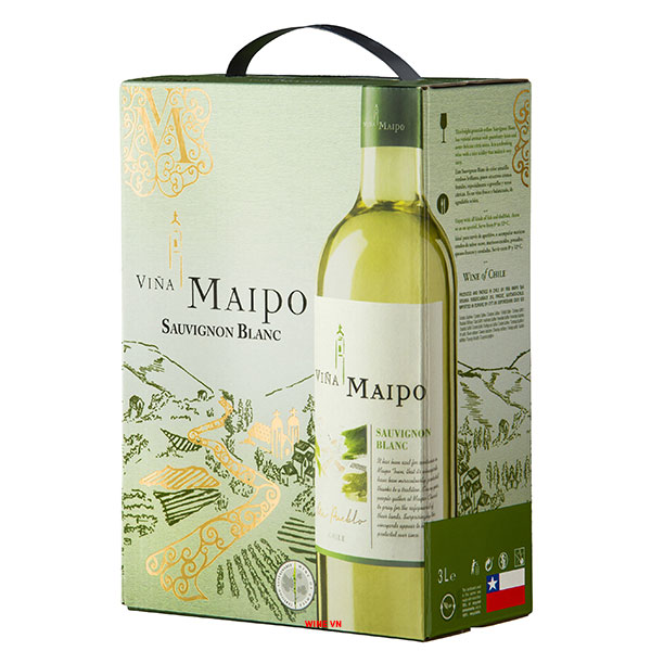 Rượu Vang Bịch Vina Maipo Sauvignon Blanc