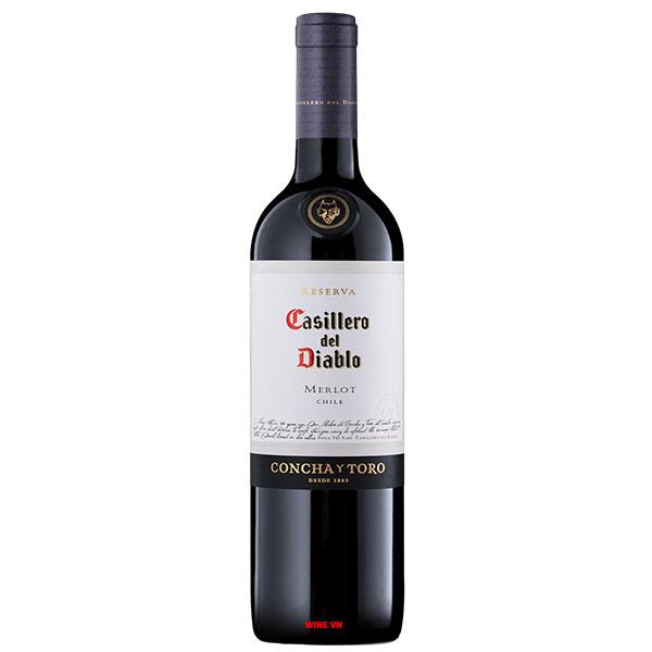 Rượu Vang Casillero Del Diablo Reserva Merlot