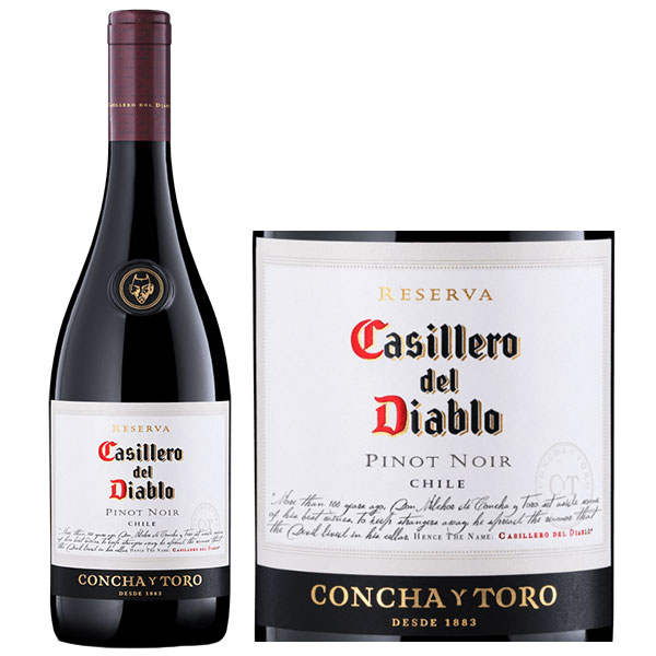 Rượu Vang Casillero Del Diablo Reserva Pinot Noir