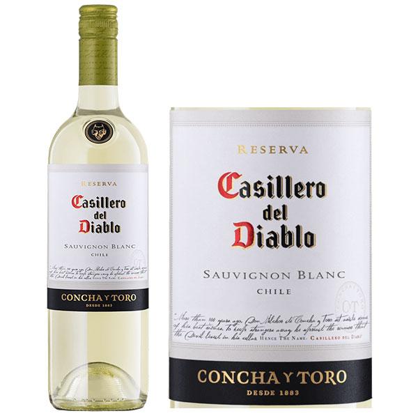 Rượu Vang Casillero Del Diablo Reserva Sauvignon Blanc