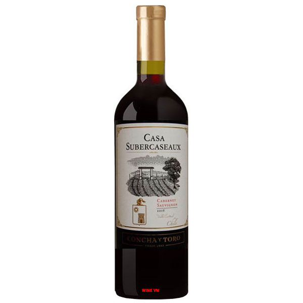 Rượu Vang Chile Casa Subercaseaux Cabernet Sauvignon