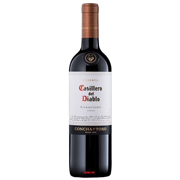 Rượu Vang Chile Casillero Del Diablo Reserva Carmenere
