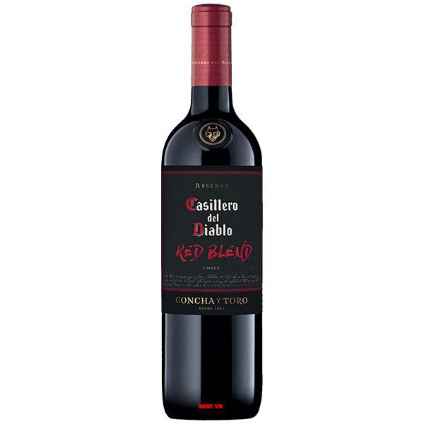 Rượu Vang Chile Casillero Del Diablo Reserva Red Blend